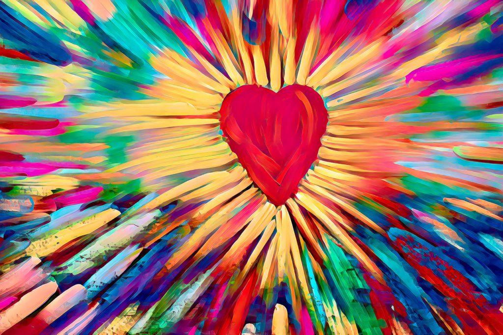 heart, big, art