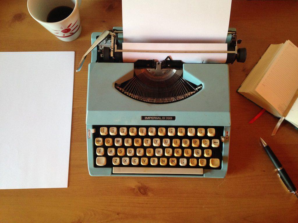 machine writing, ballpoint pen, writing